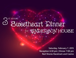 3rd Annual Sweetheart Dinner for Anderson House
